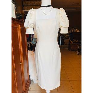 Antonio melani Theresa stretch crepe square dress